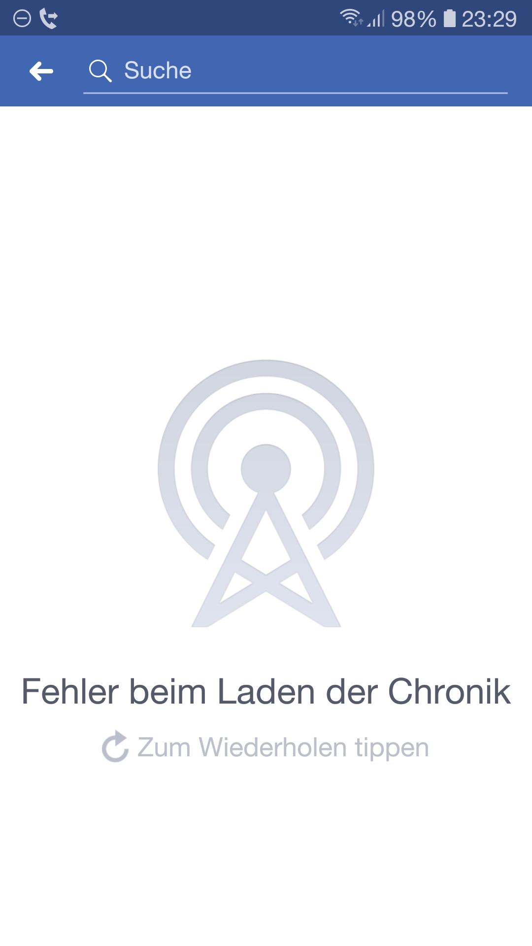 Facebook Ansicht Aus Der Sicht Von