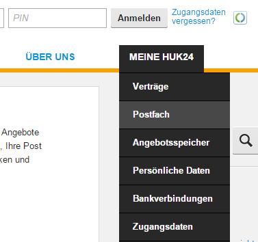 Sparhandy Rechnung Login : meine huk24 rechnung im postfach abrufen login passwort avapo ~ Themetempest.com Abrechnung