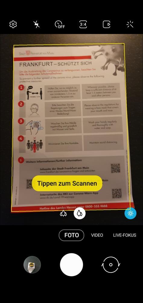 Schritt 2: Dokument scannen