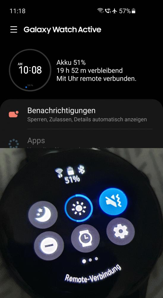 Schritt 4: Galaxy Wearables App starten und neu verbinden
