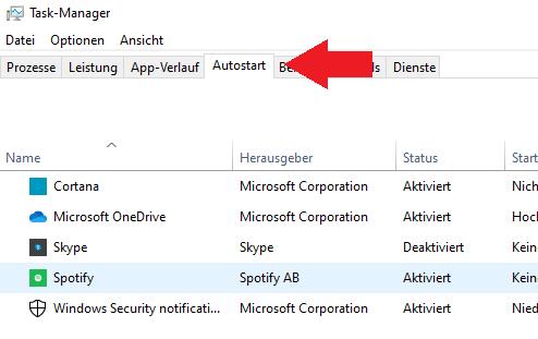 Schritt 4: Windows Autostart Einstellungen öffnen