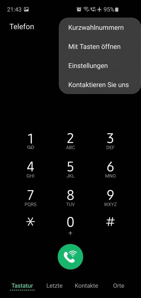 Schritt 2: Telefon Einstellungen öffnen